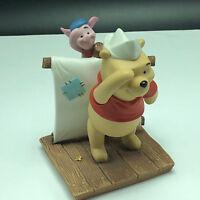 WINNIE POOH FRIENDS FIGURINE walt disney porcelain enesco grand adventure piglet
