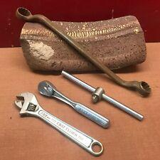 "4 Craftsman Tool Lot 3/8"" Breaker Bar 3/8"" Drive Socket Wrench V 44603 Cresent"