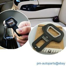 2PC Seat Belt Strap Buckle Insert Safety Warning Alarm Eliminator Stopper Insert