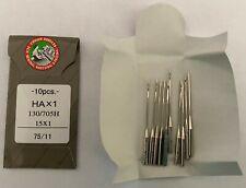 same as Singer 2020 Organ HAx1 standard sewing machine NEEDLES pk of 10
