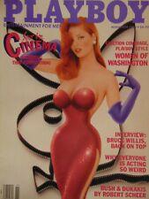 Playboy November 1988 | Pia Reyes Women of Washington #1187 +