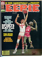 Eerie 88 Warren Magazine 1977 VF Don Maitz Basketball Alien