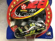 1:64 Ricky Rudd #28 Havoline Ford Die-Cast NASCAR w/ driver Sticker Collection