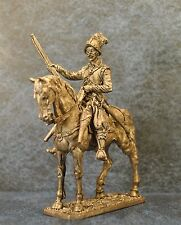 Tin Soldiers * Cavalry figure * European horse arquebusiers, 1600 * 54-60 mm