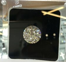 20.15 Carat Round Cut Loose Diamond GIA Certified H/SI +Free Ring VIDEO INSIDE
