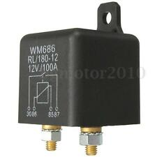 Car Auto 12V 100A 4 Pin Heavy Duty ON-OFF Switch Split Charge Relay Boat Vans
