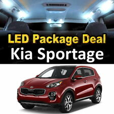 7x White LED Lights Interior Package Deal For 2011 - 2015 2016 2017 Kia Sportage