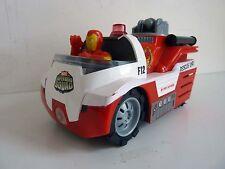 """MARVEL TOUCH TECH - SUPER HERO SQUAD Vehicule de Secours IRON MAN JADA TOYS 5"""""""