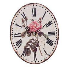 Clayre Eef Uhr nostalgie  Shabby Rose Vintage Antik 15*8cm