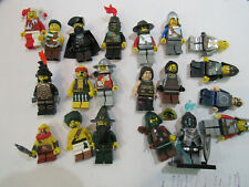 lego mini figure lot assorted pieces from sets and blind bags knights pirates