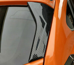FOR Subaru XV Crosstrek 2012-2017 ABS Car Window Strip Protection Trims 2PCS