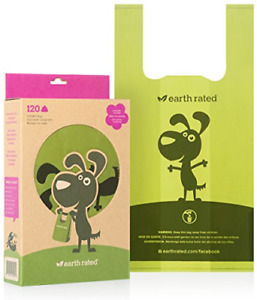 Earth Rated Poop Bags Dog Waste Bags with Easy Tie Handles Lavender-Scented C...