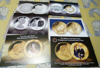 6 publicity cards for Royal Family coins & covers (20.2.35)