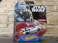 Hot Wheels Star Wars Personnage Voiture Premier de L'ordre Flametrooper by