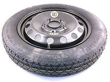 """Fiat 500X Space Saver Spare Wheel & 16"""" Tyre+ Jack & Spanner 5 Stud 2014 To 2016"""