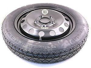 "Jeep Renegade Space Saver Spare Wheel & Tyre 16""+ Jack & Wheel Spanner,Five Stud"