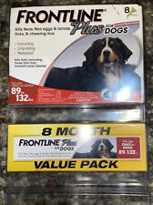 New listing Frontline Plus Flea and Tick Treatment for Dogs (Xl Dog, 89-132 Pounds) 8 months