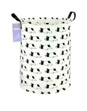 French bulldog Canvas Fabric Lightweight Storage Basket/Toy Organizer/Laundry