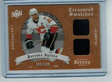 2008-09 UD ARTIFACTS JEROME IGINLA DUAL JERSEY CALGARY FLAMES 183/199