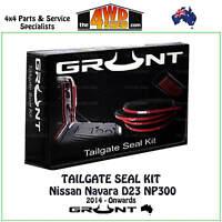 TAILGATE RUBBER SEAL KIT suit NISSAN NAVARA D23 NP300 2014 - ONWARDS TAIL GATE
