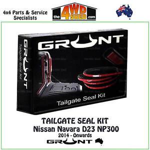 Tailgate Rubber Seal Kit suit Nissan Navara D23 NP300 2014 - Onwards