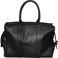 Mens Genuine Leather Vintage Travel Overnight Duffle Bag Luggage Holdall Cabin