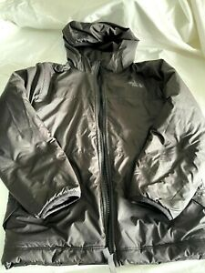 The North Face Boy's Black Reversable Jacket with Hood Size Small
