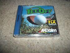TEE OFF / Tee Off - Sega Dreamcast - New & Sealed (PAL) RARE - SPANISH / ITALIAN