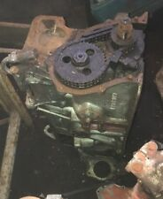 MGC Engine block and crank with caps -  used