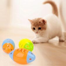 2Pcs Jouet Forme Poisson Jouer Mâcher Boule Sonore Plastique Pour Pet Chat Chien