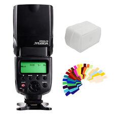JY-680A LCD Flash Light Speedlite Lamp For Digital Camera Canon EOS Nikon Pentax