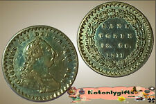GB. - George III Bank Token 1/- & 6p. 1811 ....  gFine