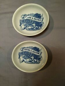 Williams-Sonoma Coves Saltem Oysters Seafood Sauce  Bowls set of 2 bin 1081
