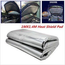 5mm 1MX1.4M Heat Shield Mat Car Hood Turbo Exhaust Muffler Insulation Pad New