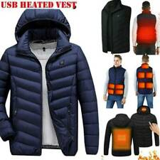 Electric Heated Vest Jacket USB Heating Pad Protects Body Warmer Winter Outwear