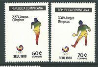 Dominican Republic 1988 - Sports Summer Olympics Seoul 88 Judo - Sc 1031/4 MNH