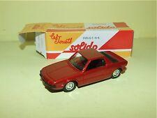 FIAT X 1/9 1975 SOLIDO Boite Carton