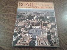 rome en couleurs album guide artistique le vatican la chapelle sixtine - f. c.