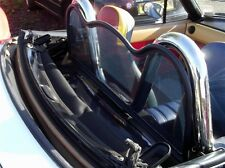 Wind deflector, black mesh windblocker R, Mazda MX-5, Eunos, MX5, mk1 & mk2, NEW