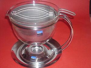 Mono Teekanne Filio 1,5 l  Grolman - mit integriertem Stövchen NEU u. Kräutertee
