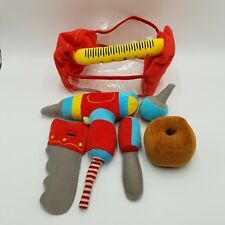 3b7284626 Melissa and Doug Toolbox Fill and Spill Plush Tool Set Builders Pretend Play