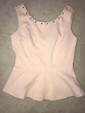 Forever 21 Peplum Top Small