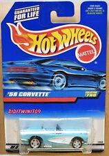 HOT WHEELS 1998 '58 CORVETTE COLLECTOR #780 CUSTOM MADE