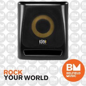 KRK 8S Studio Subwoofer Powered Sub 8'' - Brand New - Belfield Music