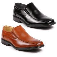 Metrocharm Ricky-03 Mens Loafers Slip on Dress Classic Shoes