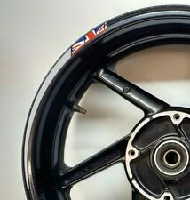GB Flag Union Jack Tapered Reflective Grey Motorcycle Wheel Rim 025GB