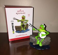 Hallmark 2013 Kermit The Frog Rainbow Connection Muppets Ornament Magic New