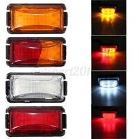 12V/24V 8 LED Trailer Truck Side Marker Light Clearance Lamp Caravan Lorry