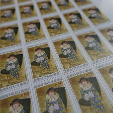 FEUILLE SHEET SELLO EUROPA PICASSO Nº1840 x25 1975 NEUF LUXE MNH