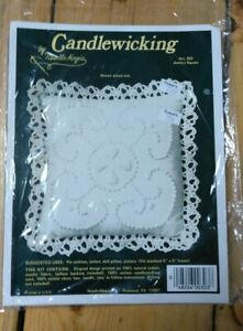 Candlewicking Pillow Kit